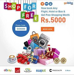 Get Free Shopping worth Rs.5000/- on Every Booking