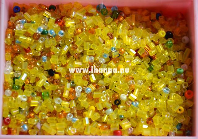 Yellow Seed Beads