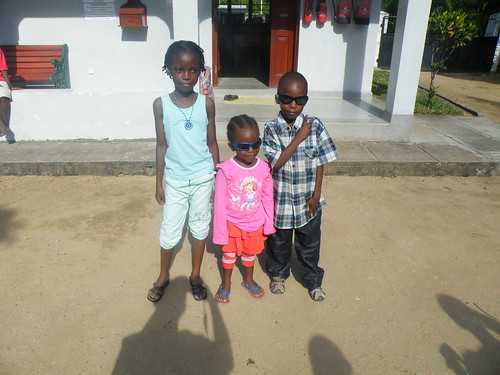 Precious and siblings before they left for their home visit