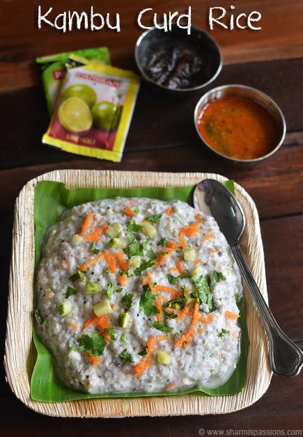 Kambu Curd Rice