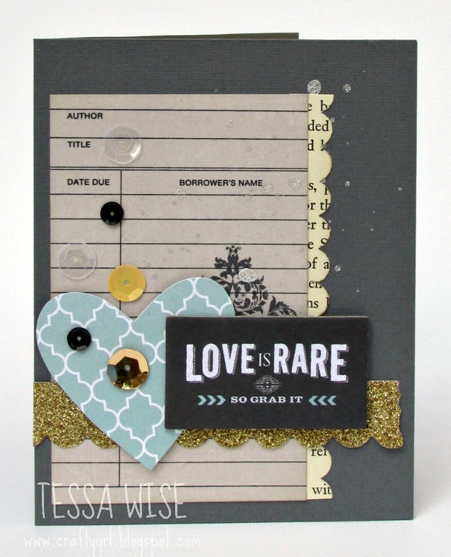 Love is Rare Card 1- Tessa Wise