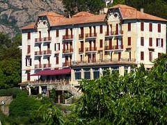 Le remarquable hôtel des Roches Rouges à Piana