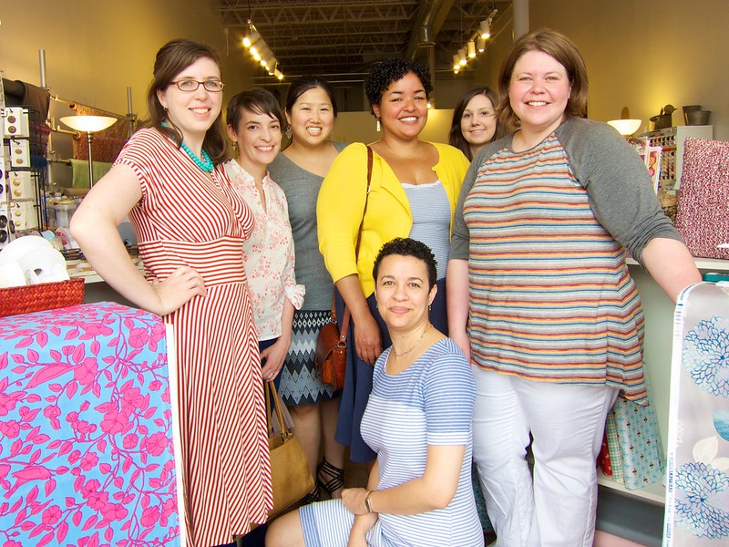 Austin Sewing Meetup at the Common Thread Fabric Store