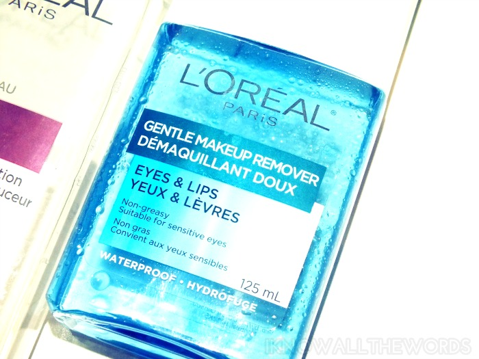 L'Oreal Gentle Makeup Remover Eyes & Lips (1)