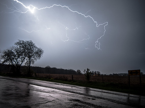 Country Road Lightning
