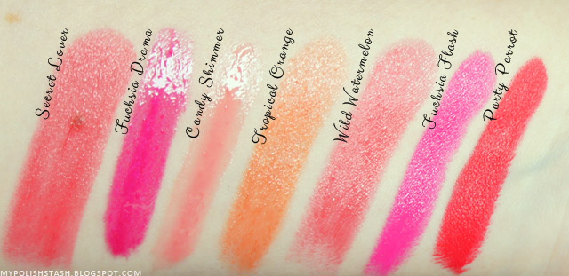 top lipsticks for spring_swatches