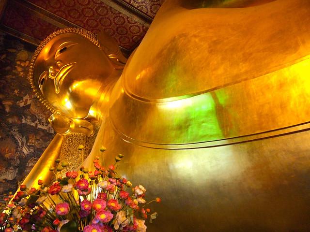 Reclining Buddha at Wat Pho in Bangkok