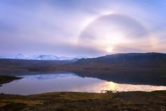 Iceland 22° Halo