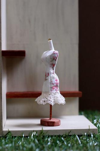 OOAK, handsewn miniature mannequin
