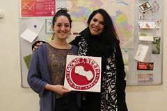 Volunteer Rachel and her host mother