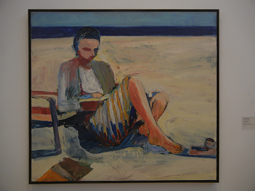 DSCN9099 _ Girl on the Beach, 1957, Richard Diebenkorn, Anderson Collection