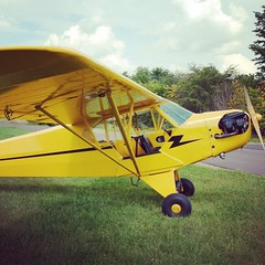 aviation, airplane, propeller driven aircraft, wing, vehicle, piper pa-18, cessna 150, piper j-3 cub, stampe sv.4, ultralight aviation,