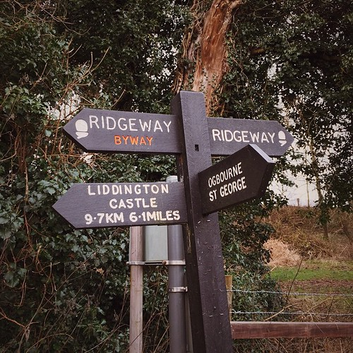 On the road again... #ridgeway #Wiltshire #nationaltrails #walking