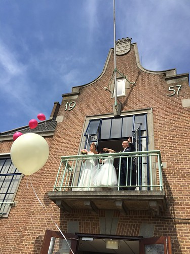 Heliumballonnen Stadhuis Spijkenisse