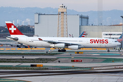 Swiss International Airbus A340-313E HB-JME