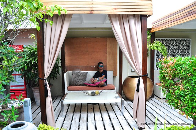 Relaxing at Islands Leisure Boutique Hotel & Spa Garden Area