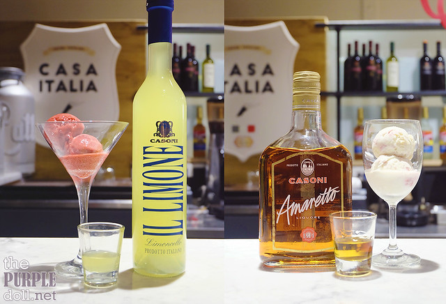 Limoncello and White Velvet (P195 Single Shot, P245 Double Shot)