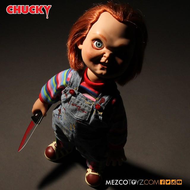 MEZCO《靈異入侵》好孩子恰吉 陰險兇殘版 Talking Sneering Chucky