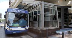 06/24/2016 - 12:23 - Guayaquil, viernes 24 de junio del 2016 (Andes).-Ante la queja de miles de usuarios que usan diariamnete el sistema de transportación Metrovia, se creó una veeduria ciudadana para verificar las condiciones en las que se presta ese servicio público. Foto:Andes/César Muñoz