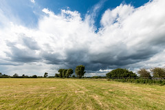 Storm cloud on Aylesbury Ring Walk