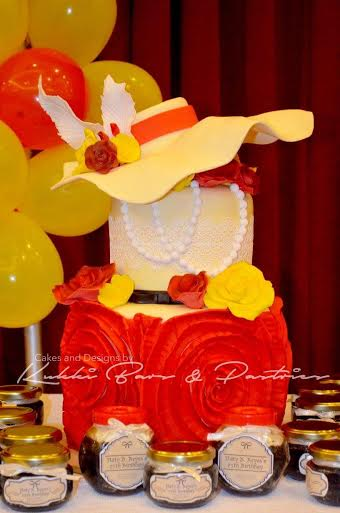 Lalaine Demillo's Stylish Cake