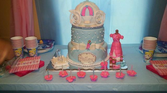 Ms Hailey's Cinderella Cake by Michelle Melton