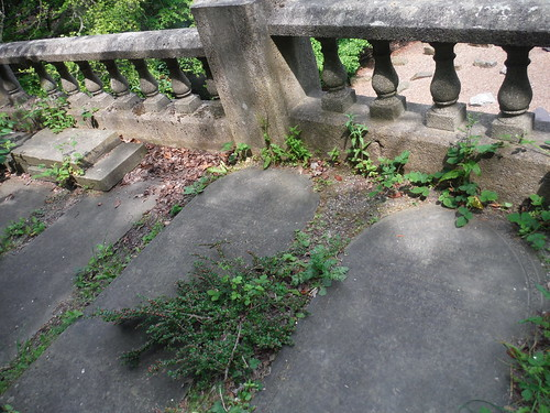 Sheffield General Cemetery, Top of Catacombs