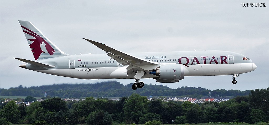 A7-BDC - B788 - Qatar Airways