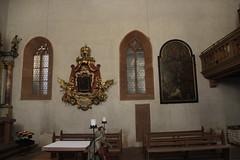Interior of the Church St. Jakobus Maior in Karlstadt
