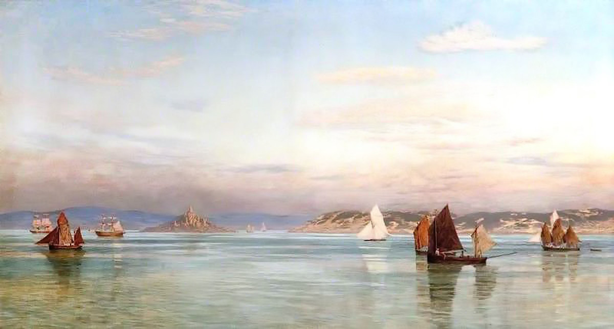 St Ives Bay by John Edward Brett, A.R.A. (1878)