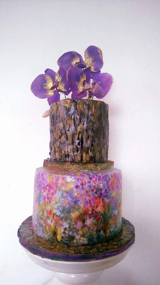 Woodland Cake by Daniel Guiriba