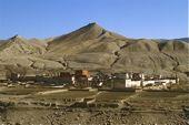 Nepal, Mustang-Trekking. Hauptstadt Lo Mantang. Foto: Archiv Härter.