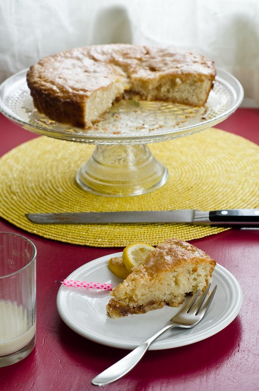 Birthday Breakfast: Lemony French Yogurt Cake
