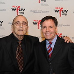 WFUV Gala 2013: WFUV Sports' Bob Ahrens with Bob Costas