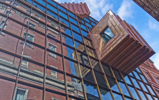 Vista de un edificio de Liverpool.