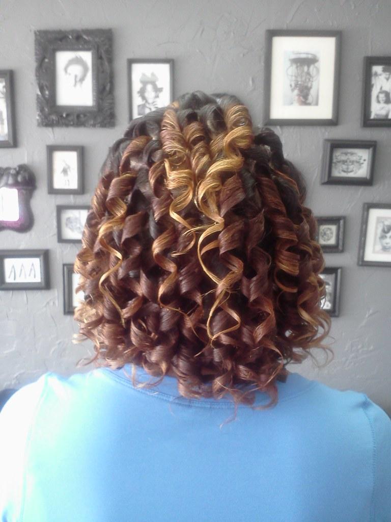 Spiral Set On Natural Hair