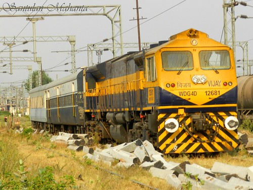 Cab 1 profile of WDG4D #12681 Vijay