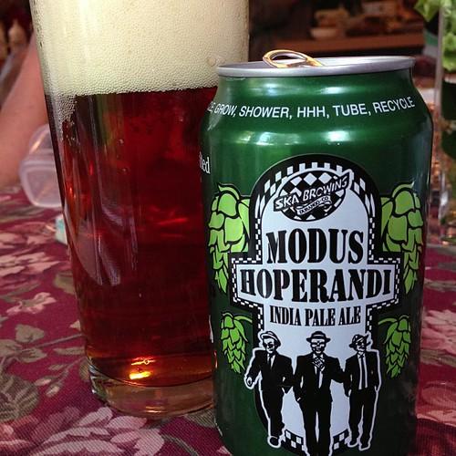 Ska Brewing Modus Hoperandi