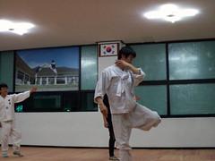 Taekkyeon lesson, Chuncheon