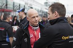 Volker Strycek mit dem Opel Manta beim 24-Stunden-Rennen