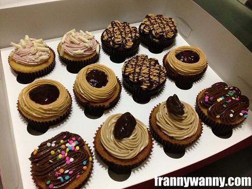 twelve cupcakes 1