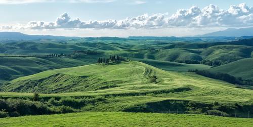 green landscape tuscany toscana paesaggio