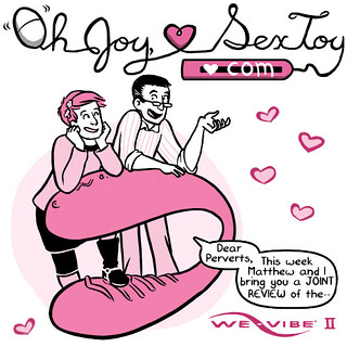 oh joy sex toy review: a comic about a couples vibrator
