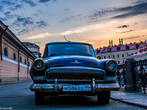 street sunset sky car russia olympus lightroom stpeterburg mft em5