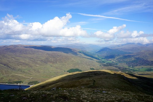 Looking East down into Glen Lyon