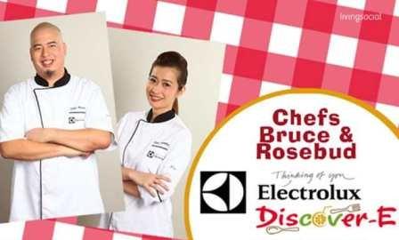 Celebrity Chef Endorsers Chef Bruce Lim & Chef Rosebud Benitez