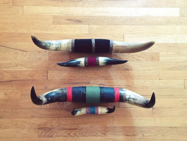 Vintage Steer Horns.