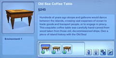 Old Sea Coffee Table