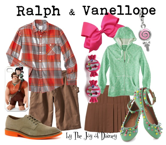 Ralph & Vanellope (Wreck it Ralph)