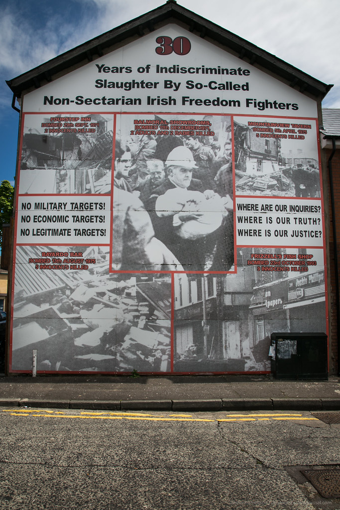 '30 Years of Indiscriminate Slaughter' mural